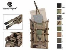 Emerson Double Decker Magazine Pouch Airsoft Single Rifle Pistol Molle Mag Pouch