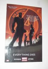 New Avengers Volume 1: Everything Dies TP Jonathan Hickman Steve Epting