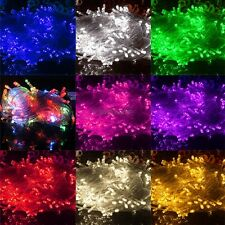 10M 100LED String Fairy Lights Indoor/Outdoor Xmas Christmas Wedding Party C5