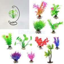 Artificial Aquatic Lifelike Water Grass Plastic Plant Coral Aquarium Tank Decor