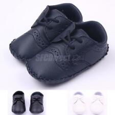 Warm Lace Up Toddler Baby PU Shoes Crib Shoes Sneakers Baby First Shoes