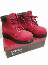 Ankle High Lace Up Safety Boots SAFETY WORK LACE UP STEEL TOE CAP SHOES