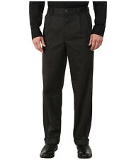 Dockers NEW Gray Mens US Size 42x30 Flat Front Relaxed Fit Dress Pants $79 164