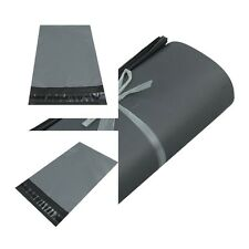 UK Grey Plastic Strong Packaging Postal Polythene Mailing Bag10-Sizes Mail Bags