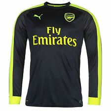 Puma Arsenal FC Long Sleeve Third Jersey 2016 2017 Mens Football Soccer Shirt