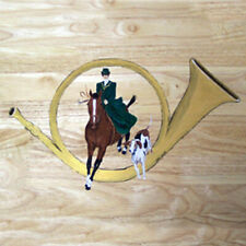 Sidesaddle Fox Hunting Tile 6X6 Section Ceramic Tile
