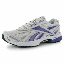 Reebok Pheehan Womens Running Shoes Trainers White/Purple Jogging Sneakers