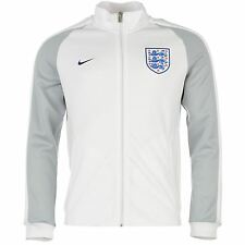 Nike England N98 Jacket Mens White Football Soccer Track Top