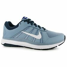 Nike Dart 12 Training Shoes Mens Blue Grey/White Fitness Trainers Sneakers