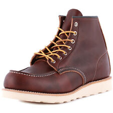 Red Wing 6-inch Moc Toe Mens Boots Brown New Shoes