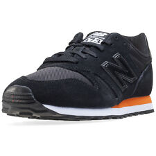 New Balance Ml373 Mens Trainers Black Orange New Shoes