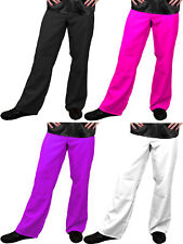 MENS 1970'S DISCO TROUSERS PANTS FANCY DRESS COSTUME FLARES 70'S 1960'S 60'S