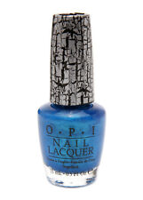 OPI NAIL POLISH 15ml E64 Turquoise Shatter shimmer crackle polish