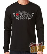 """LONG-SLEEVED T-SHIRT LONG""""BULLET FOR  MY VALENTINE-THE POISON""""LONG SLEEVE"""