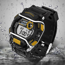 MENS WATERPROOF DIGITAL SPORTS WATCH Army Military Fashion Dress Water Resistant