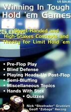 Winning in Tough Hold 'em Games : Short-Handed and High-Stakes Concepts and...