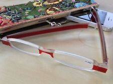Love New Twisties Folding Reading Glasses by M&H From the UK. Red, Black, Blue.
