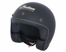 Genuine Indian Motorcycle Open Face Helmet Black Matte Finish