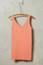 NEW Anthropologie Eloise Reversible Seamless Tank Top in Coral Sz S,M,L $30.00