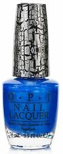 OPI NAIL POLISH E56 Blue Shatter 15ml Medium blue shimmer crackle polish