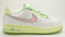 [314219-163] NIKE AIR FORCE 1 GS GRADE SCHOOL SHOES WHITE / PRFCT PINK LMN