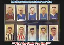 ☆ Carreras - Famous Footballers 1935 (G/F) ***Pick The Cards You Need***