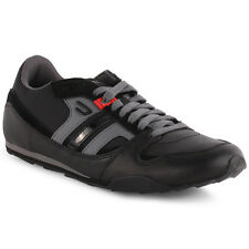 Diesel Gunner S Mens Trainers Black Anthracite New Shoes