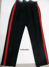 New British Army No1 Fishtail Dress Uniform Trousers Red Stripe Blues mess