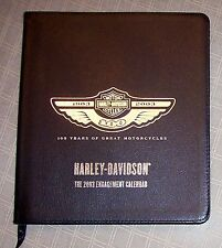 100 Years of Great Motorcycles Harley Davidson 2003 Calendar 1903 2003