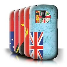 STUFF4 Back Case/Cover/Skin for Samsung Galaxy Trend Plus/S7580/Oceania Flag