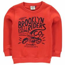 Giorgio Childrens Brooklyn Sweater Boys Crew Neck Long Sleeve Clothing