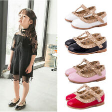 Baby Kids Party Shoes Girls Leather Single Sneaker Princess Shoes Girls Sandals