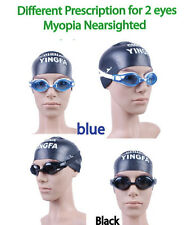 Customized Prescriptionl Swimming Goggles Nearsighted swim goggles