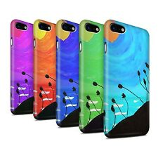 STUFF4 Matte Phone Case for Apple iPhone 7 /Sunset Oil Painting