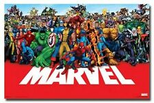 MARVEL HEROES Amazing Group Image RARE HOT NEW Print POSTER