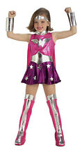 Super Pink Wonder Woman Kids Halloween costume