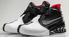 MEN'S NIKE AIR ZOOM VICK II  *599446-003* (BLK / WHT - RED) SIZE: 9 *NEW IN BOX*