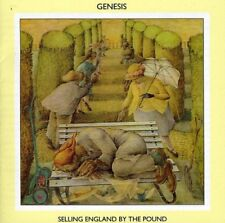 Genesis: Selling England By The Pound CD 1973 Remastered Peter Gabriel Collins