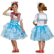 Girls Hello Kitty Sailor Deluxe Tutu Costume