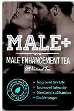 MALE PLUS Natural Herbal Tea Sexual Performance Erection Stamina Enhancement NEW