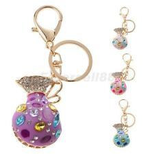 Opal Money Purse Keyring Charm Pendant Handbag Bag Car Keychain Key Ring Keyfob