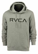 RVCA Big RVCA Pullover Hoodie (Athletic Gray/Black)