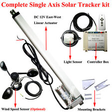 Single Axis 1KW PV Solar Tracking System Sunlight Track Kit- Solar Panel Tracker