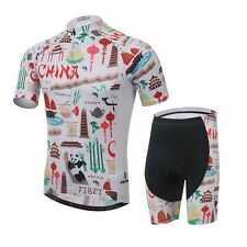 XINTOWN Team Men Cycling Jersey Bike Bicycle Outdoor Tops Shorts Comfortable Set