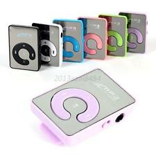 USB 8GB USB Flash Drive Memory Card Clip Mirror Digital MP3 Music Player 6Colors