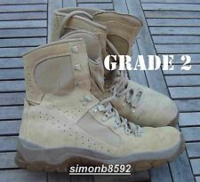 UK BRITISH ARMY SURPLUS G2 MEINDL DESERT FOX BOOT,TAN SUEDE LEATHER,COMBAT BOOTS