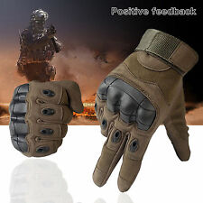 New Military Tactical Airsoft Outdoor Psort Hard Knuckle Full Finger Gloves