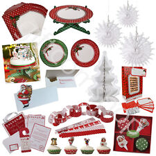 Talking Tables Christmas Party Tableware Xmas Decorations Home Baking Accessory