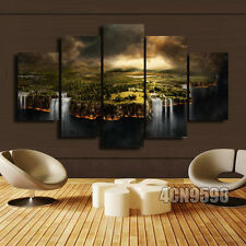 HUGE MODERN ABSTRACT WALL DECOR ART OIL PAINTING ON CANVAS #193