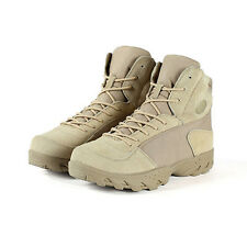 Men Army Tactical Comfort Desert Boots Suede Leather Combat Military Ankle Boots